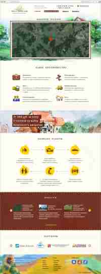 Дизайн сайта компании по продаже земли в Кирове «Вятка-Династия»