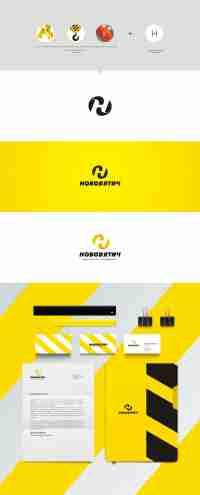 Разработка логотипа компании «Нововятич»