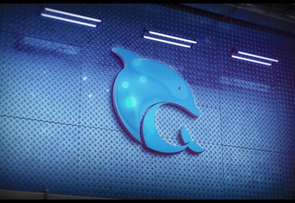 Разработка логотипа «Дельфин Инжиниринг»