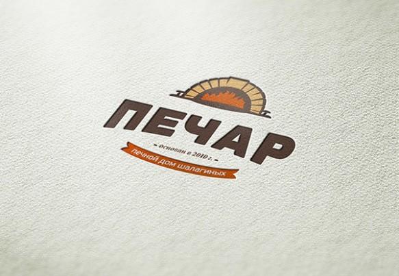 Дизайн логотипа печного дома «Печар»